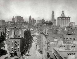 Manhattan Skyline: 1915