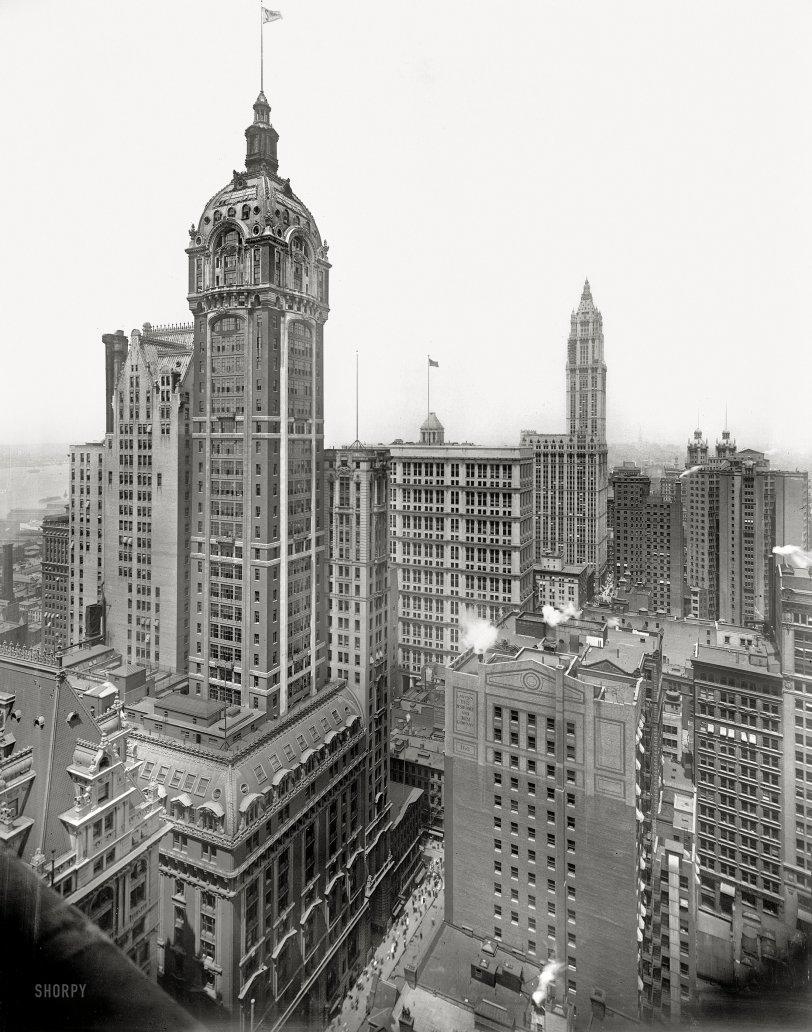 Singer Building: 1913