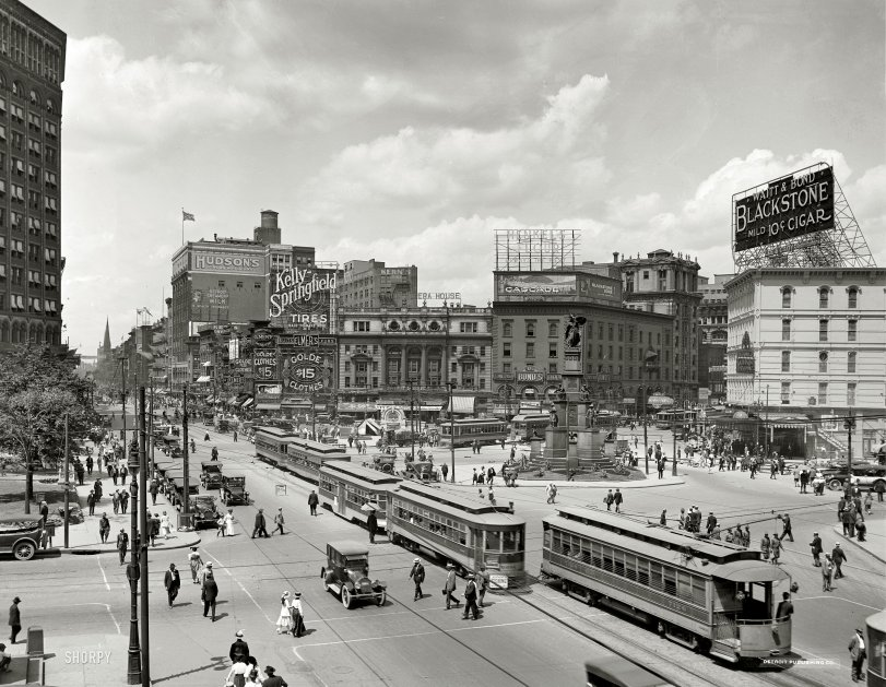 Woodward Avenue: 1917