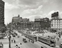 Woodward Avenue: 1917