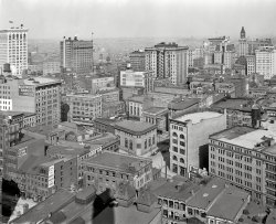Roofs of Baltimore: 1912