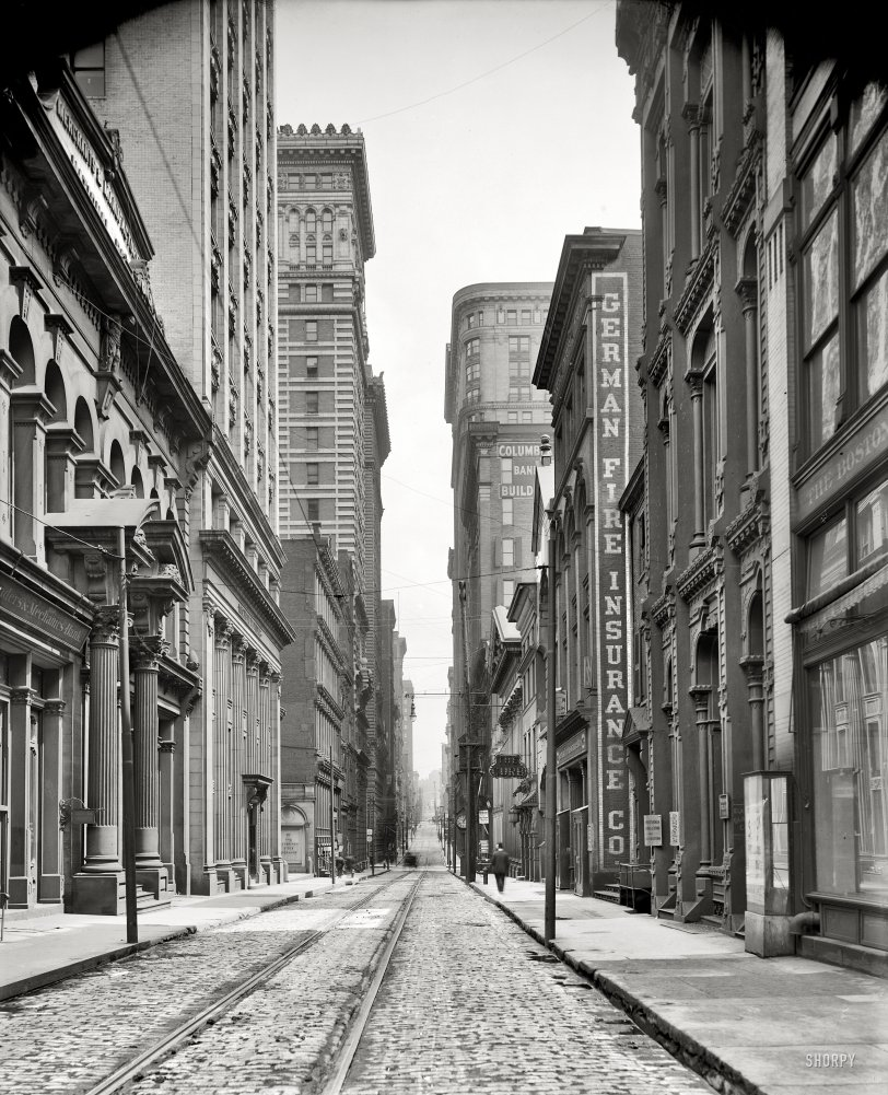 Bankers Row: 1905