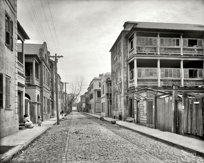 Tradd Street: 1910