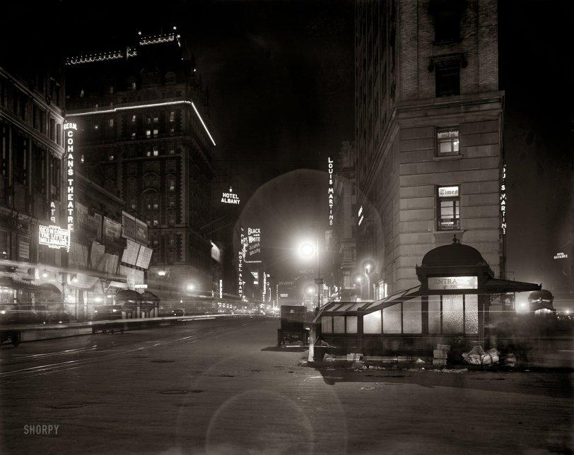 On Broadway: 1911