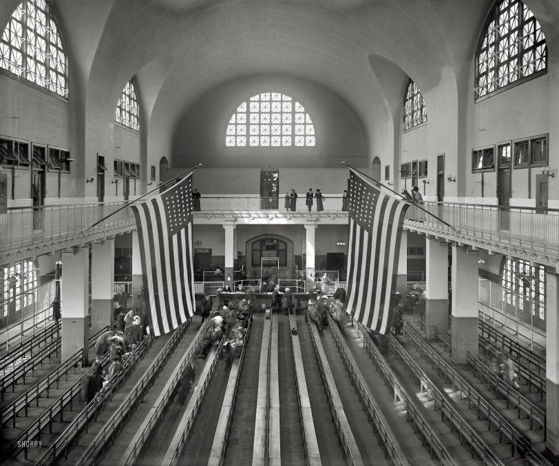 Ellis Island: 1911