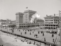Atlantic City Boardwalk: 1908