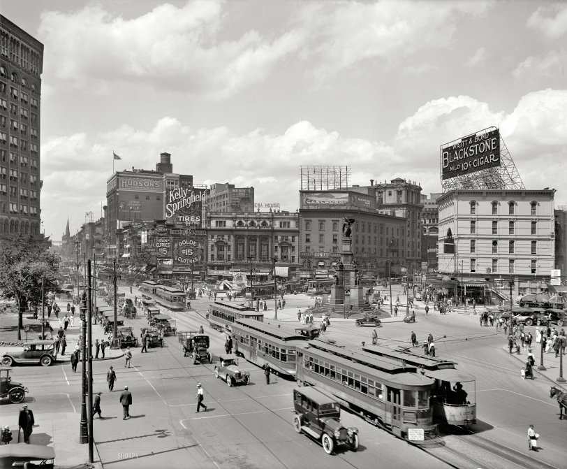 The Motor City 1917 Shorpy 1 Old Photos