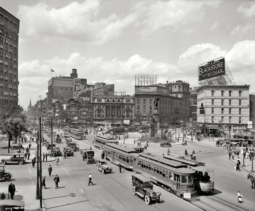 The Motor City: 1917