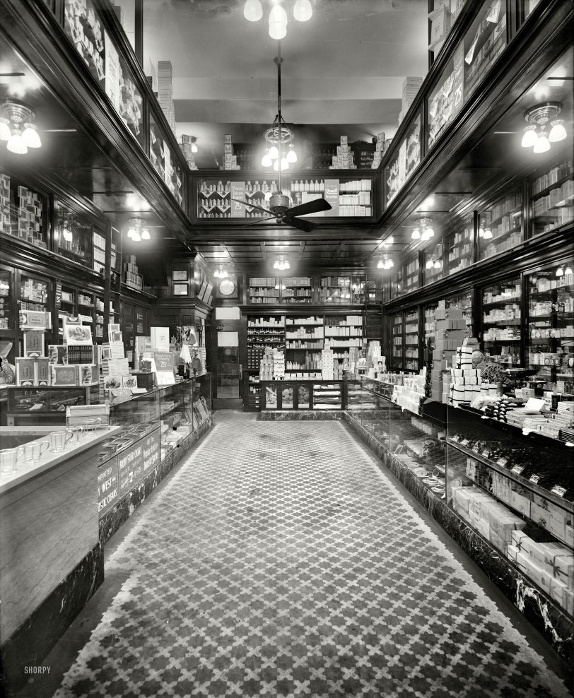 The Drugstore: 1913