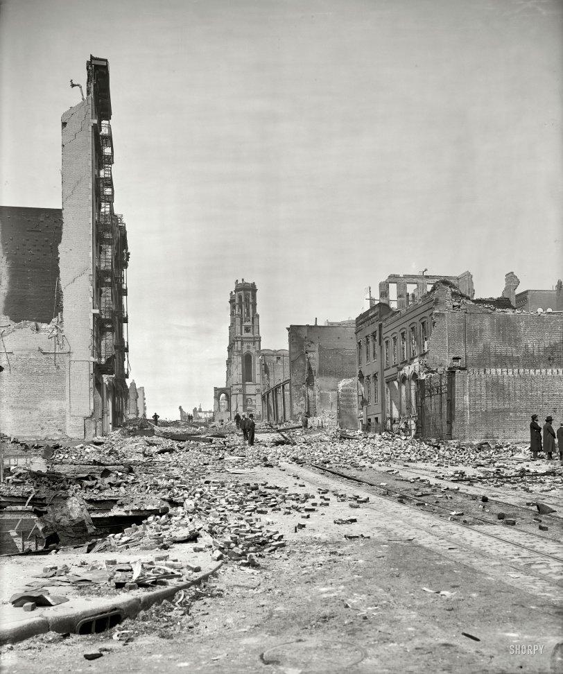 Sutter Street: 1906