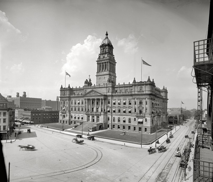 Wayne County Building: 1910