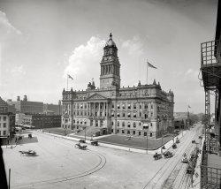 Wayne County Building: 1910