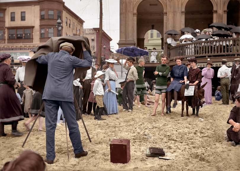 Atlantic City Forever (Colorized): 1912