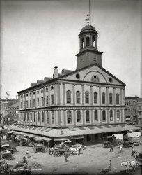 Faneuil Hall: 1903