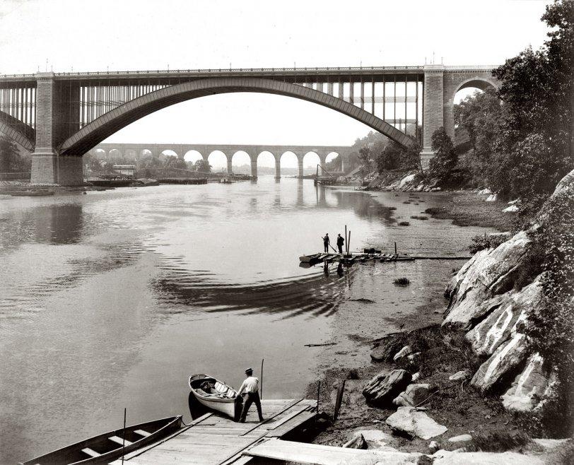 Harlem River: 1890