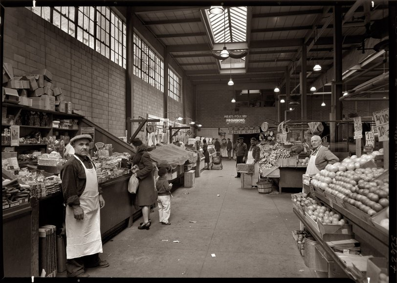 New York Public Market: 1948