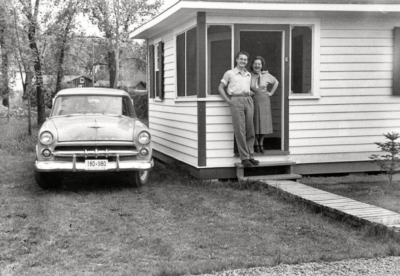 Dad's car, Dad, Grandma