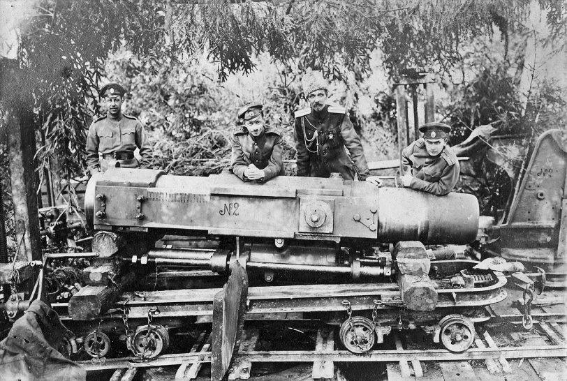 Russian Gun: 1915