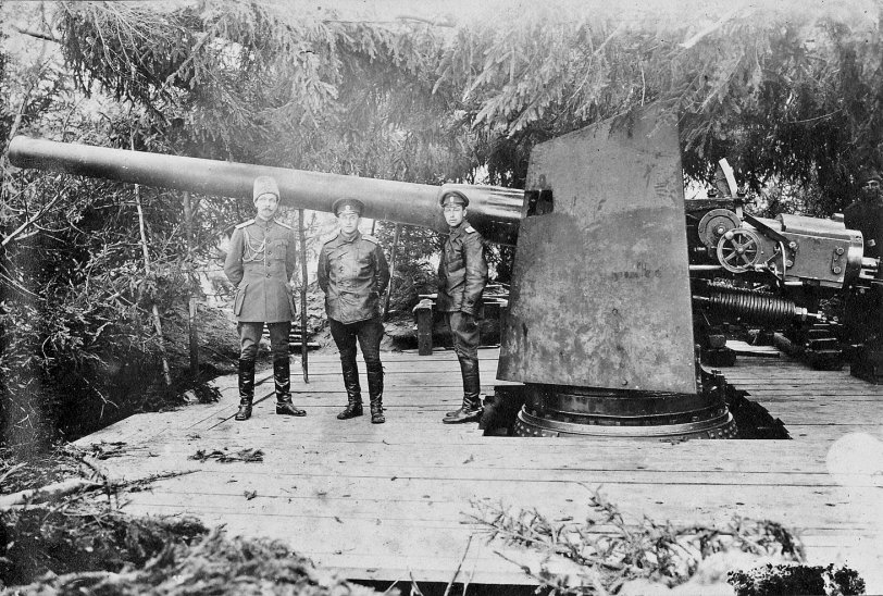 Big Russian Gun: 1915