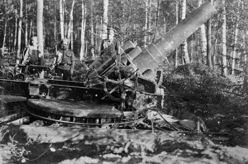 Russian Artillery: 1915