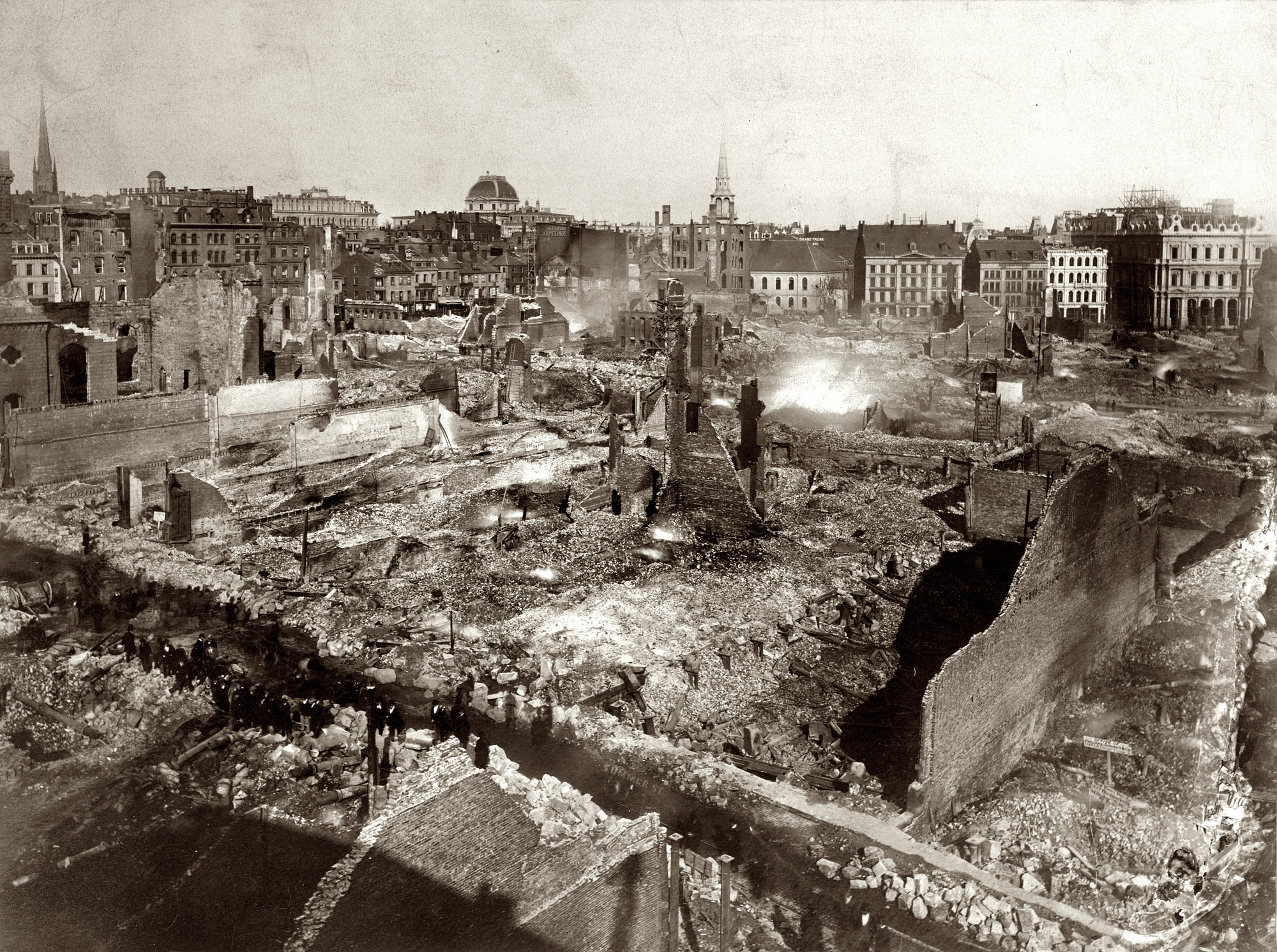 Shorpy Historic Picture Archive :: Great Boston Fire of 1872  high-resolution photo