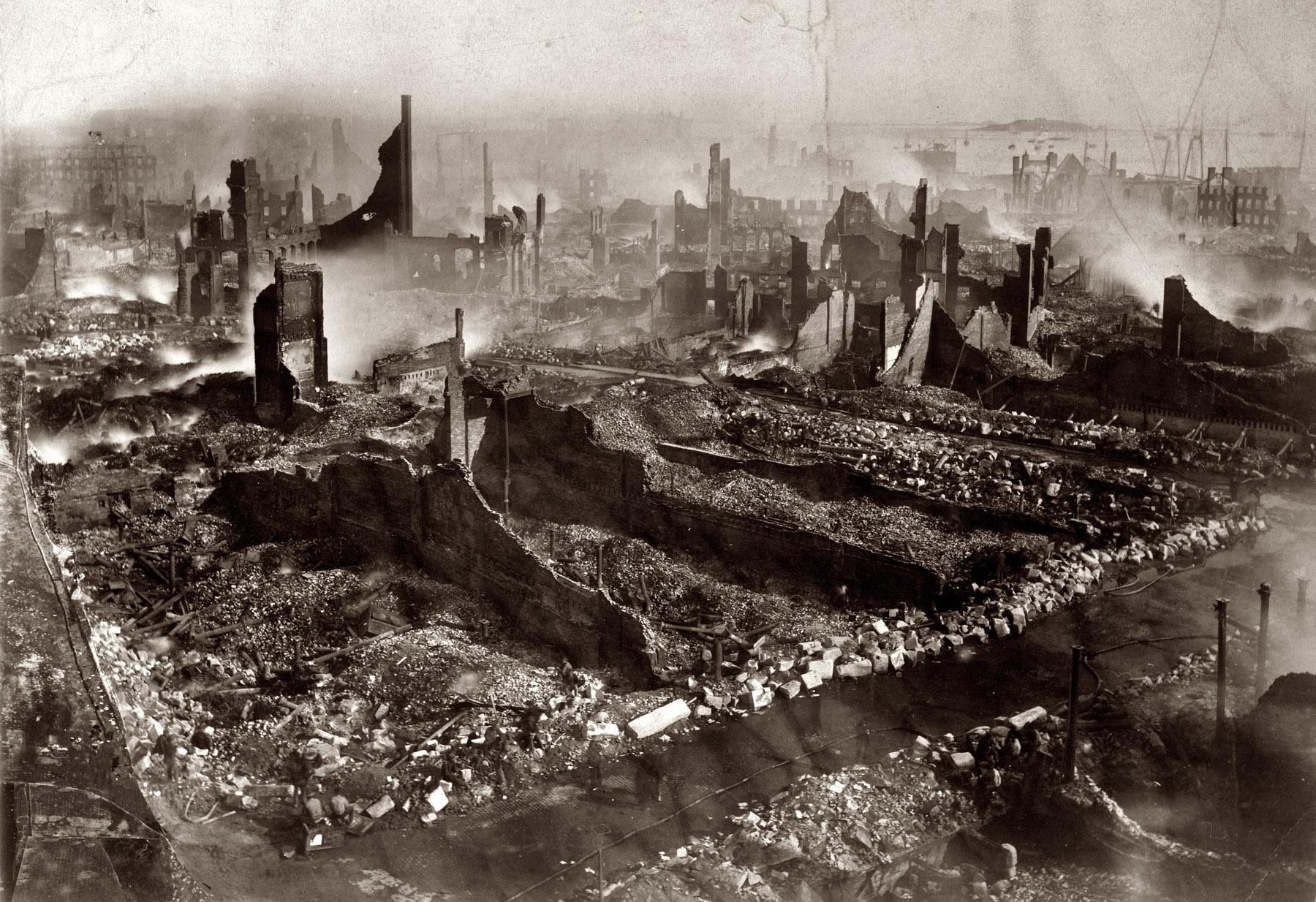 Incendio de Boston de 1872, ojalá pase de nuevo y todo ese público de mierda se muera.