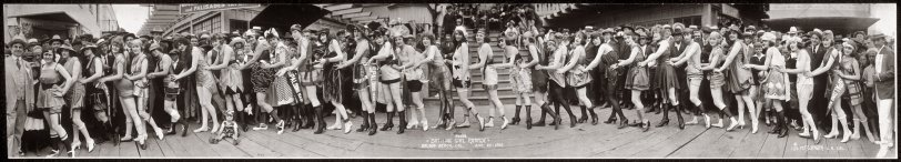Bathing Girl Parade: 1920