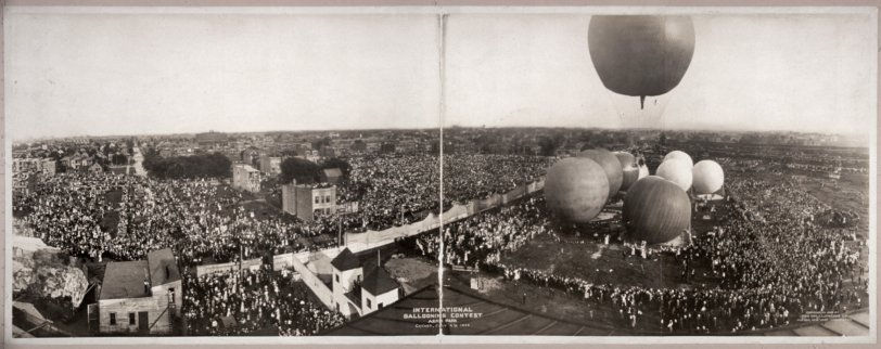 Ballooning Contest: 1908
