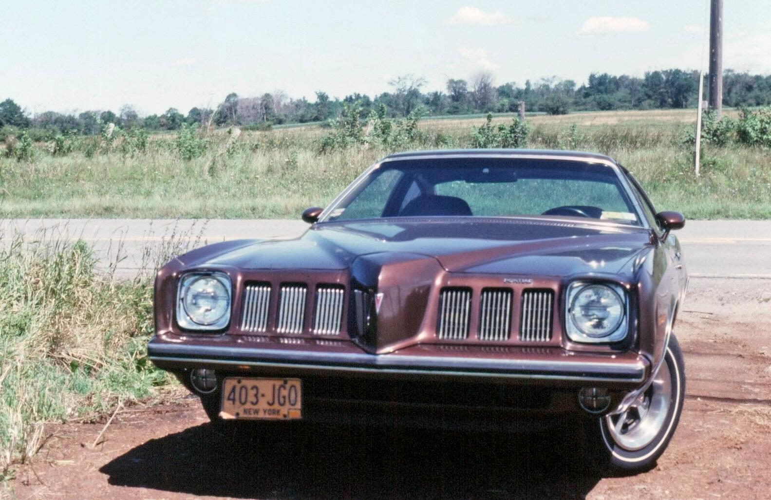 Shorpy Historic Picture Archive 1973 Pontiac Grand Am