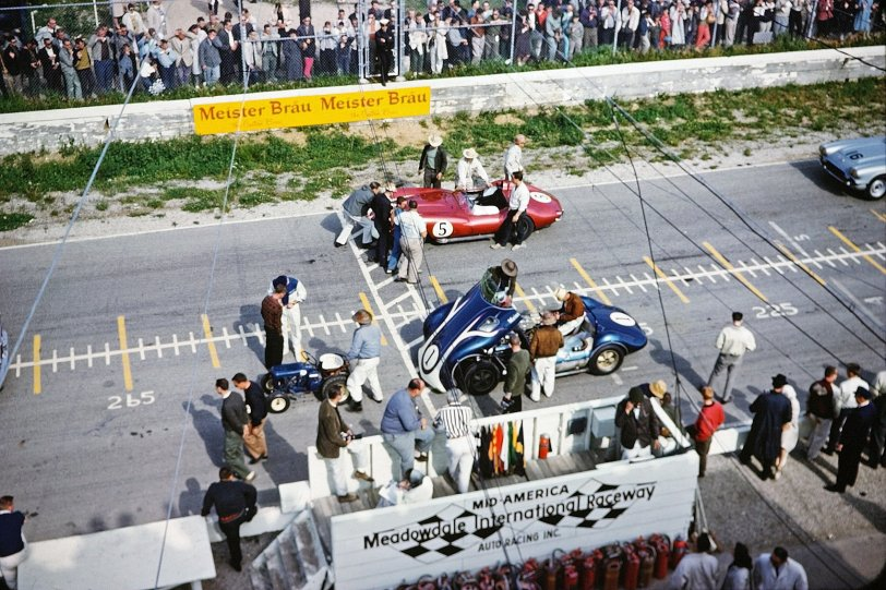 On the Starting Line: 1958