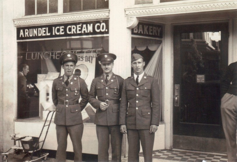 Arundel Ice Cream c. 1942