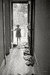 Poor White Hallway: 1935