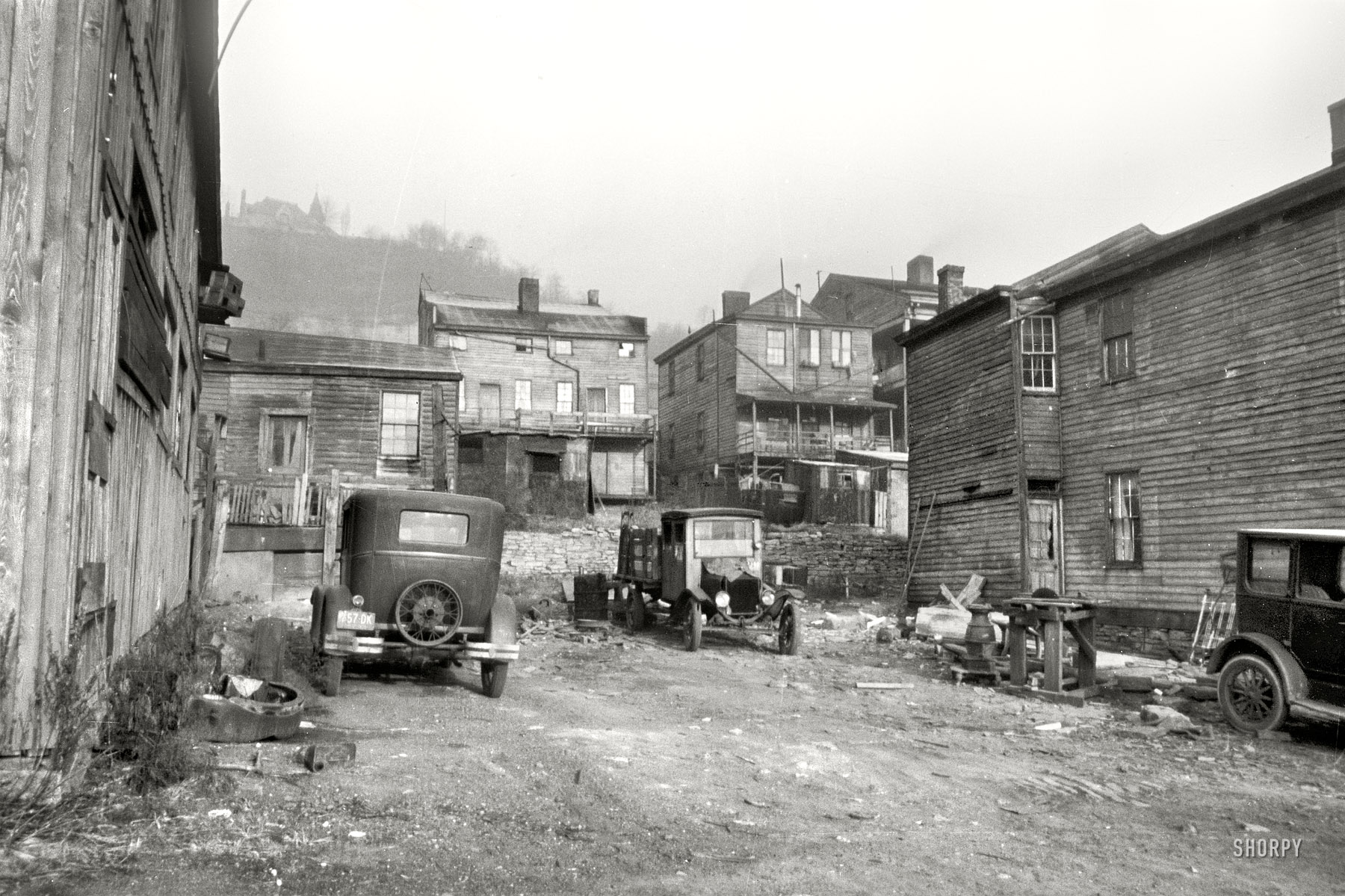 Shorpy Historic Picture Archive Neighbors 1935 High