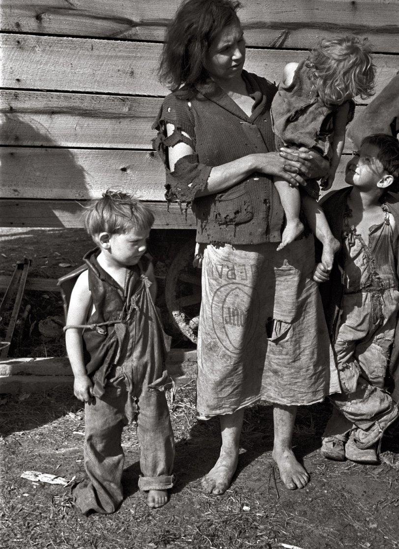 Rural Mother: 1936