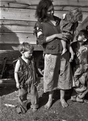 Rural Mother: 1936