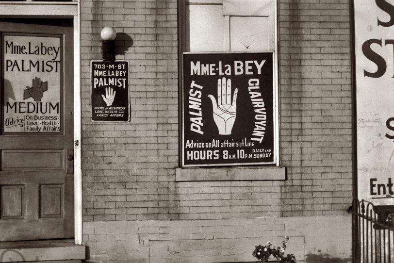 Medium on M Street: 1937