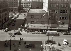 City Sidewalks: 1940