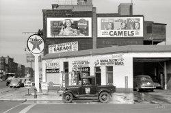 Indian Trails Texaco: 1940
