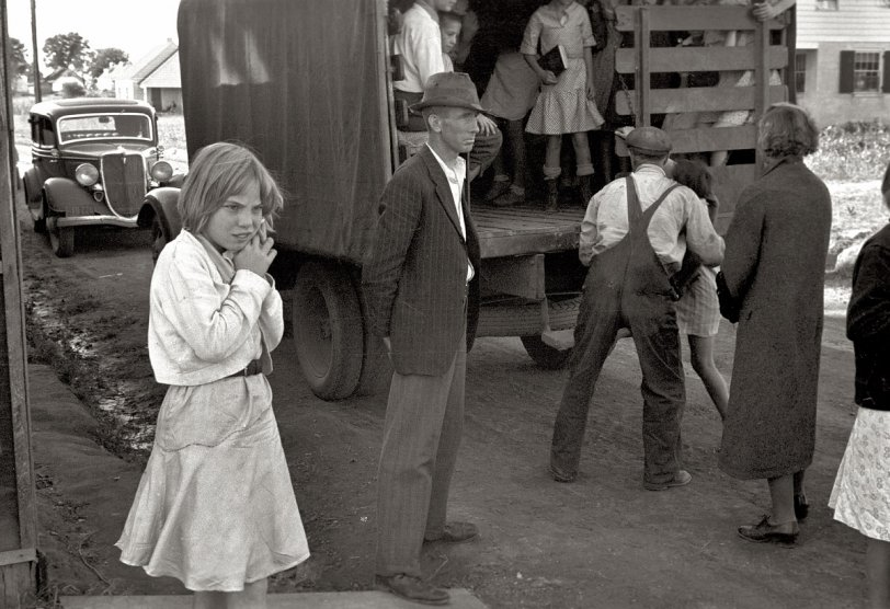 All Aboard the School Truck: 1935