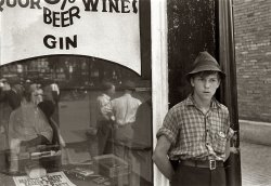 Liquor Beer Wines Gin: 1938