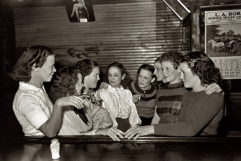 Cajun Girls' Night Out: 1938