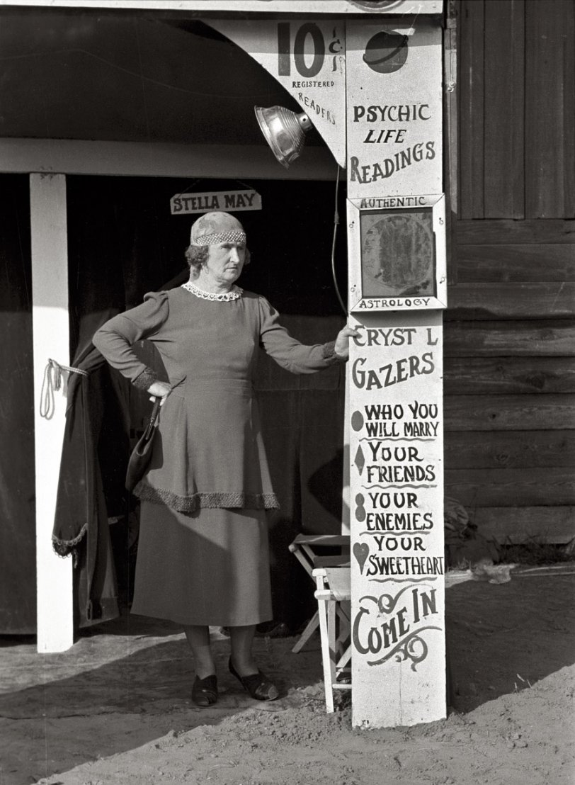 Stella May: 1938