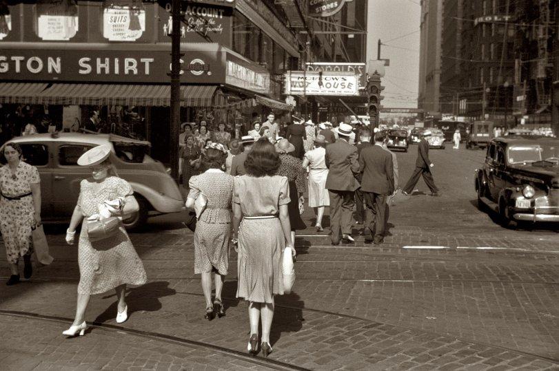 Crossing Dearborn: 1941