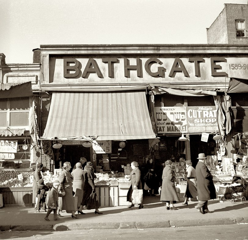 Bathgate Avenue: 1936