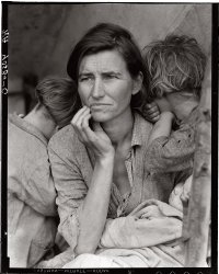 Migrant Mother: 1936