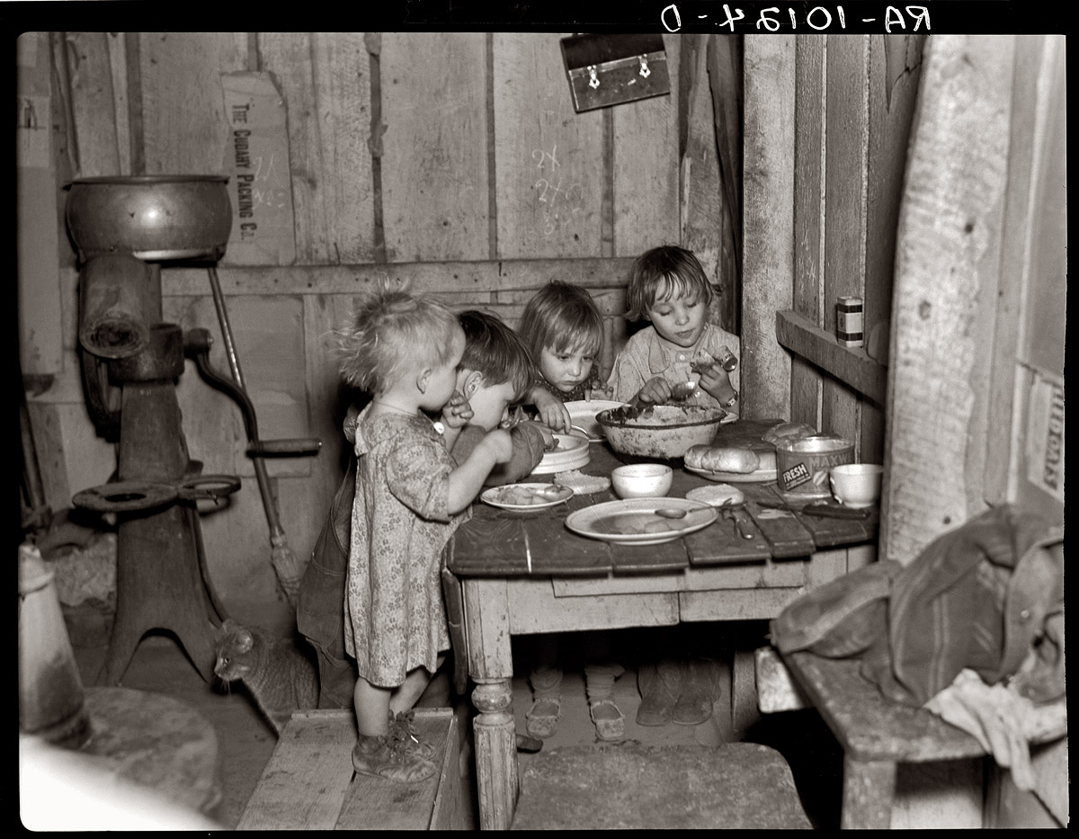 Shorpy Historic Picture Archive :: A Poor Diet: 1936 high ...