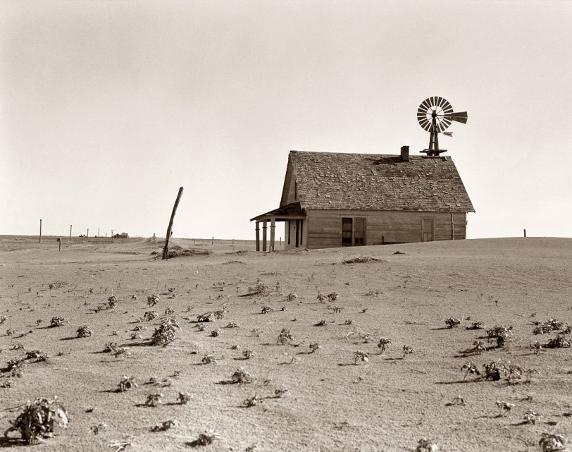 Dust Bowl Farm: 1938