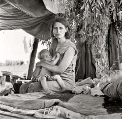 Migrant Mother II: 1936