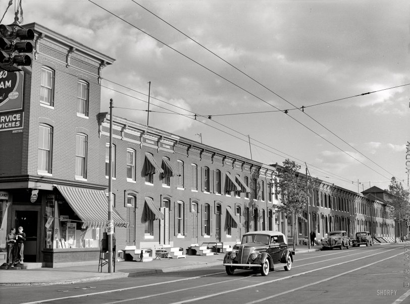 Streets of Baltimore: 1940