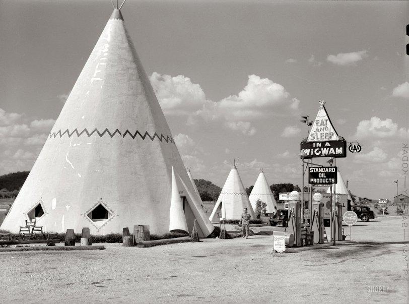 Wigwam Village: 1940